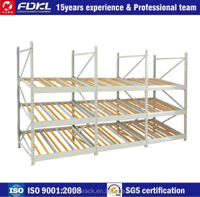 Top quality pallet flow rack
