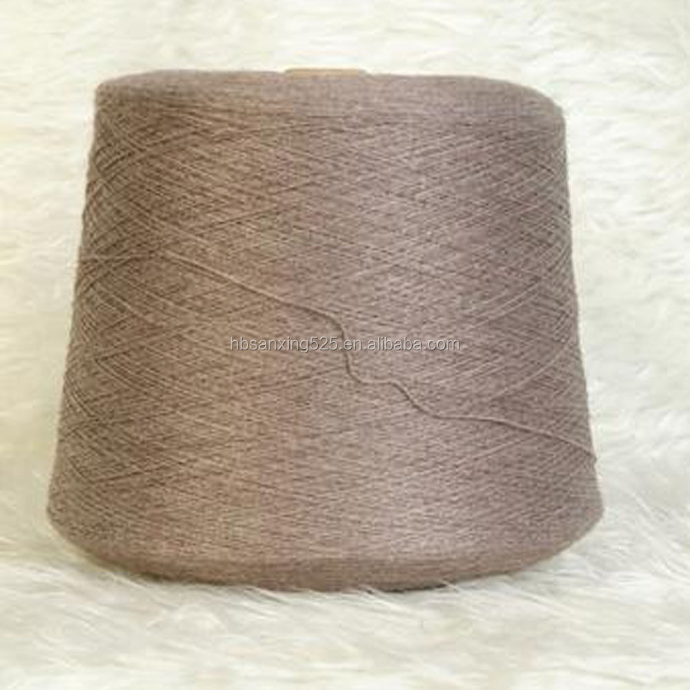 HIGH grade Environmental camel hair weaving yarn