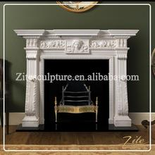 Factory Direct Sale Indoor fireproof material fireplace