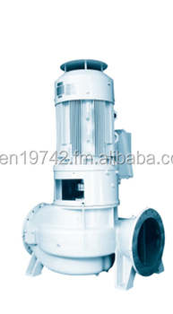 DMD Series Vertical In-line Double Suction Centrifugal Pump