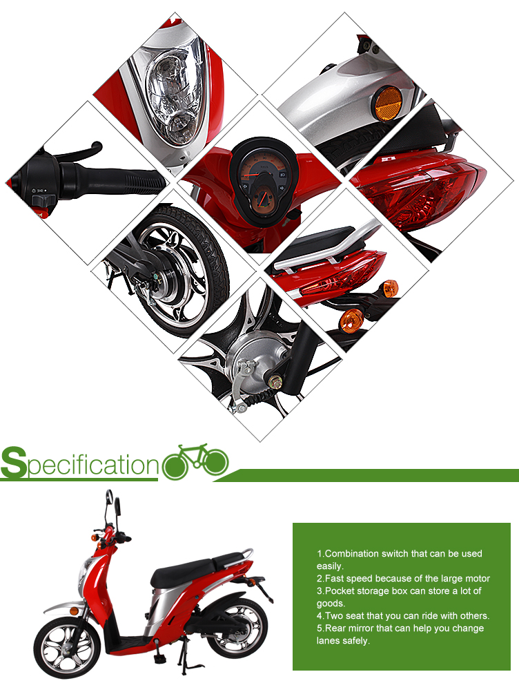 Windstorm electric scooter 48V 350W/500W/800W/1000W with ce/eec for adults