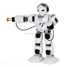 Battery operated fighting toy robot Alpha intelligent smart robot toys for kids