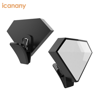 Latest Live Stream mobile fill-in light 9 brightness led ring selfie light with logo