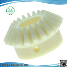 engineering plastic injection moulding parts nylon plastic helical gear for printer