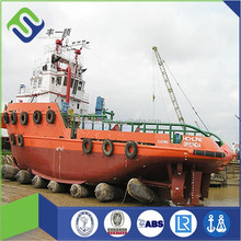 China made customized natural rubber marine salvage airbag