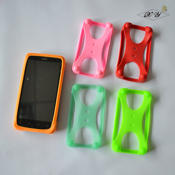 high quality Cell phone bumper cover silicon phone protector universal rubber cell phone case