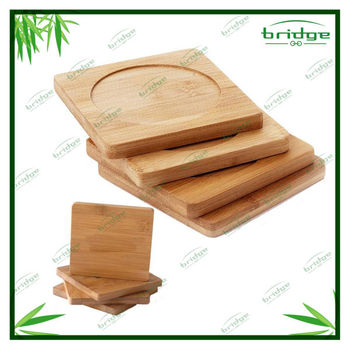 Bamboo 4 Piece Coasters