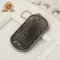 High quality souvenir tag metal commemorative coin