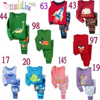 boys long sleeve cotton pajamas suits kids sleeping wear children fashion brand clothes