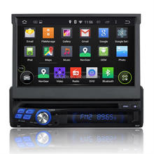 Universal 1 din 7 inch android car dvd player with navigation and Bluetooth and wifi