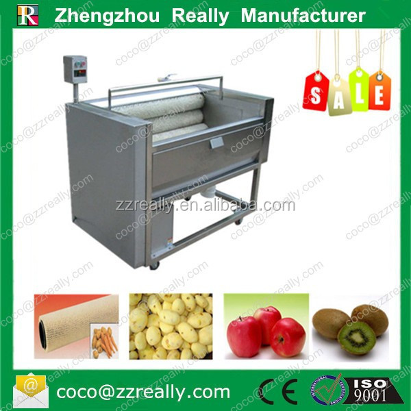 New Condition Electric Ozone Fruit Vegetable Washer and Peeler with Brush