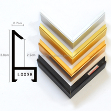L0038 Wholesale Metal Material aluminium frame profile for picture frames