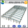 low cost of light steel structure long span prefab living house school shop office hotel use building on sale