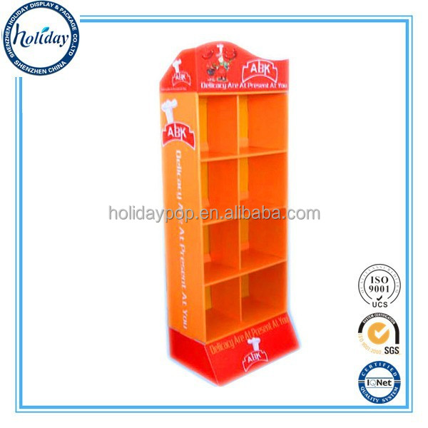 Hot Sale Corrugated Cardboard Furniture Patterns Folding Cardboard Store Display Furniture