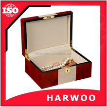 Small order accept wood jewelry lacquer box