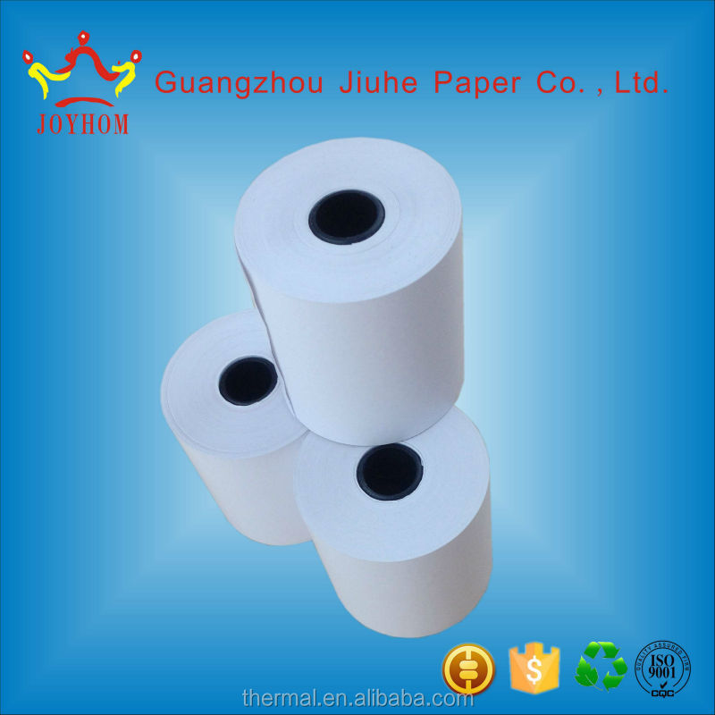 65GSM GLOSSY THERMAL PAPER ROLLS 80MM X 65MM