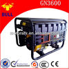 High Efficiency Air Cooled Gasoline Engine Dynamo Generator