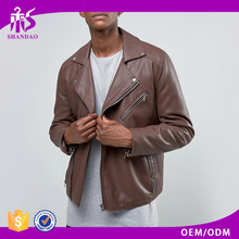 Light foldable varsity color PU leather jacket winter wear 100% polyester down padded faux leather jacket