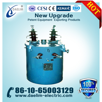 Small 10kv 220v 100kva Single Phase Oil Immersed Power Transformers