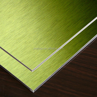 wall material alumium composite panel / facade acm panel wood exterior wall cladding