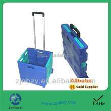 6 easy portable folding shopping trolley shopping bag with wheels