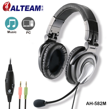 For gaming use top over the ear trendy pro headset with good bass