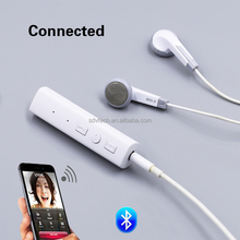 New Design Handfree Earphone Wireless Bluetooth V4.0 Cute Earphone Adapter for Universal All Phone