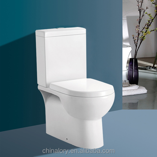 Western Style Bathroom toilet seat Ceramic P-trap bathroom toilet hidden spy in bathroom