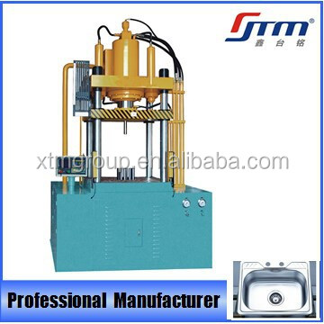 CNC Hydraulic Four Column Deep Drawing Machine with Cartridge Valve Blocks Technology