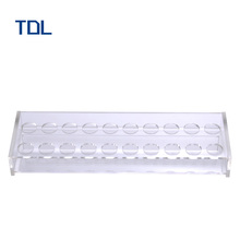 Clear Acrylic Counter cosmetics Display Stand For Nail Polish