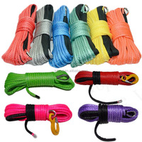 12mm uhmwpe fiber braided winch rope