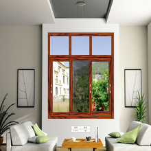 HS-JY8014 steel vertical sliding window philippines design