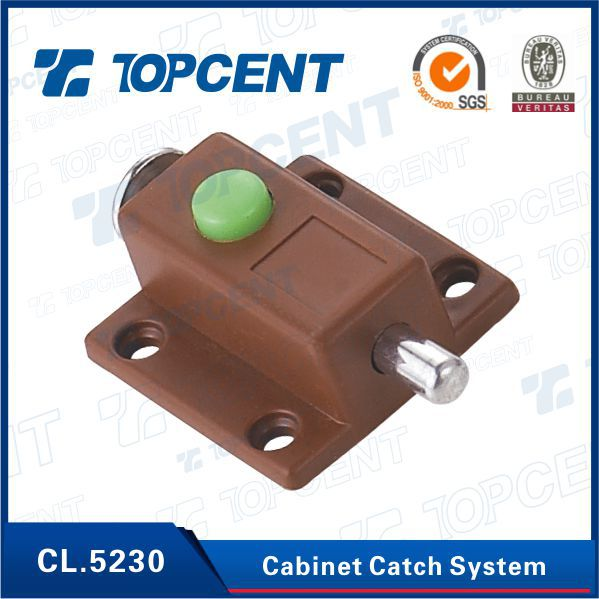 [BP.6080] Plastic magnetic push to open system cabinet catches