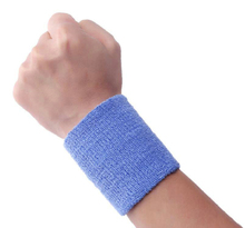 Colorful Sports Wrist Sweatbands Wrist Sweat Band Custom LOGO Wrist Support