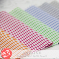 China supplier factory price polyester cotton yarn dyed fabric