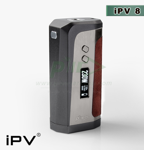 Pioneer4you New Arrival iPV8 Dual Batteries Best Mod ipv8 230W IPV8 RED VOLCANIC