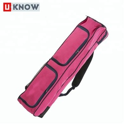 China hot products new design polyester ice field hockey stick bag for 4 sticks