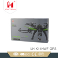 hot product 4 axis long distance professional brushless drone with WIFI FPV Camera