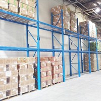 Steel Wire Warehouse Pallet Shelving Rack Upright For Sale