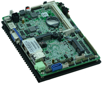 3.5 inch car motherboard fanless industrial computer board Intel N2800 motherboard