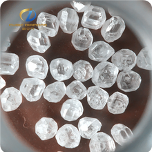 VVS/VS man made colorless rough synthetic diamond 3.0-5.0mm