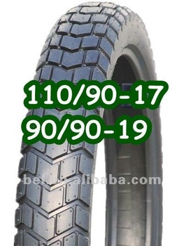 High Quality Motorcycle Flat Tyre 19 9090