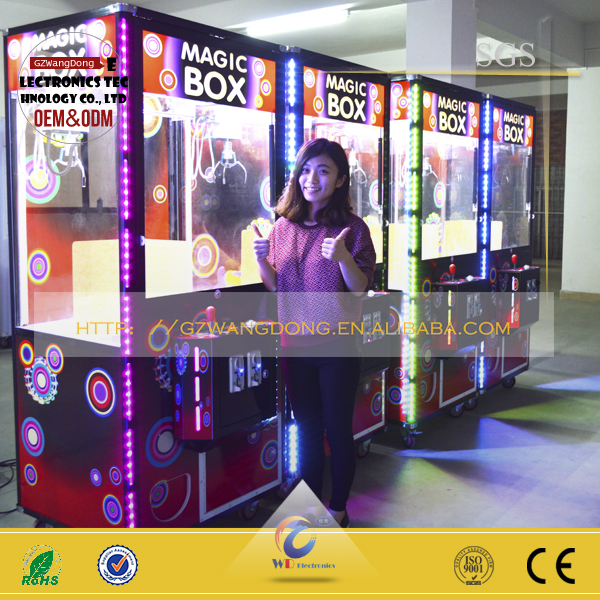 big vending machine/lotto machine toy/robot vending machine from GZ