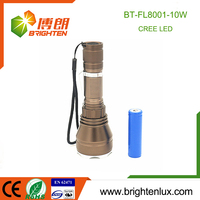 China Factory Supply Cheap Powerful Aluminum Hunting 10w led led long range rechargeable torch