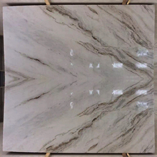 Popular Snow Marble Tile With Black Veins