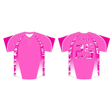shirt pink cool summer baseball jersey