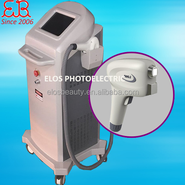 2017 ELOS hair removal machine diode 808 laser
