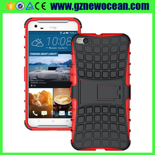 Fashion Tire Kickstand Stand Hybrid Mobile Phone Cover Case for HTC One X9