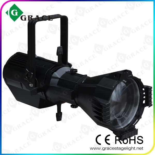 New Design 180W RGBW LED Profile Spot ellipsoidal head