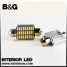 Car 27smd led light 4014 white led festoon Led interior light for map lamp lamp, reading light ,license plate lights